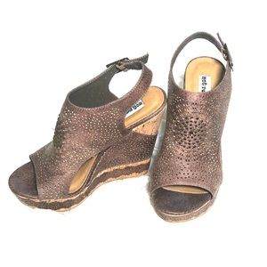 Not Rated Brown Wedges
